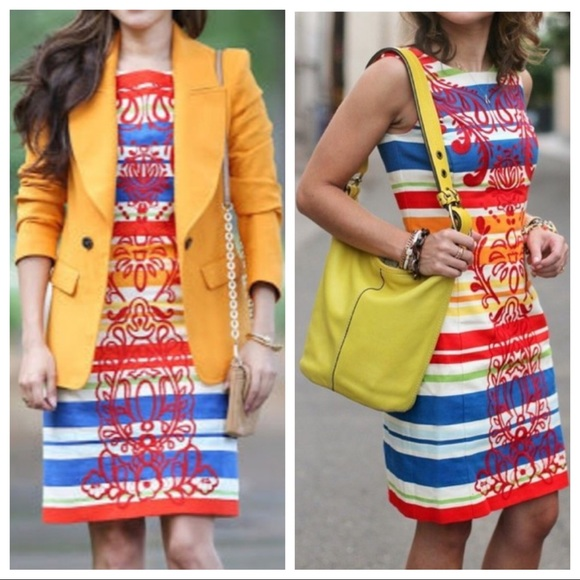 b14ccb01c698 Anthropologie Dresses & Skirts - 🎉1HR SALE🎉Anthropologie Striped Shift  Dress